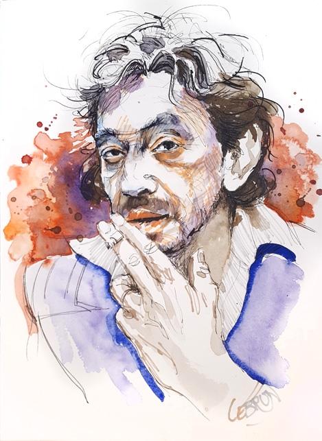 Serge Gainsbourg par Lebrun